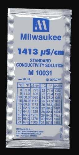 Kalibrierlösung 1413µS 5 x 20 ml Beutel