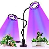 Pflanzenlampe, Pflanzenlicht mit UPGRADED Automatische Zeitschaltuhr