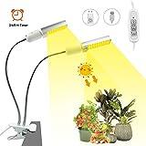 Pflanzenlampe Pflanzenlicht LED Vollspektrum Schwarz Pflanzenleuchte 120 LEDs 27 Watt