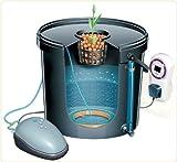 Aero Pod 1Pod Hydrokultur Deep Water Kultur (DWC) System eine Pumpe–1Website Deckel