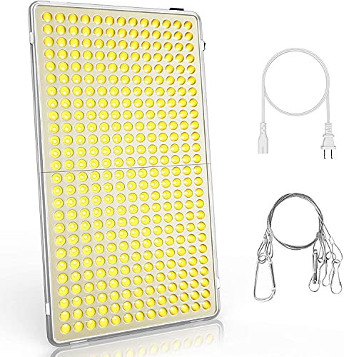 Bozily Pflanzenlampe LED, Sonnenähnliche Vollspektrum,