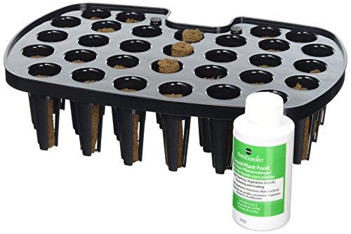 AeroGrow Miracle-Gro AeroGarden Saatgut-Startsystem für das Harvest-Modell, schwarz, 26.7x17.8x6.4 cm, 800293-0101